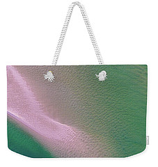 Weekender Tote Bag featuring the photograph Aerial View Of Noosa River by Keiran Lusk