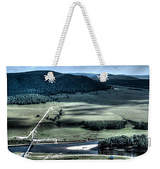 Aerial View Of Rolling Russian Hills Weekender Tote Bag