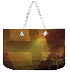 Aeris Cross Weekender Tote Bag by Kevin Blackburn