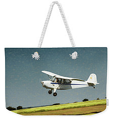 Weekender Tote Bag featuring the photograph Aeronca 7a C by James Barber
