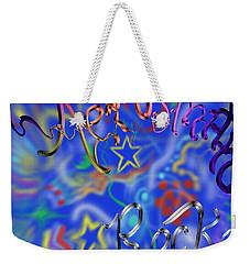 Aerosmith  Weekender Tote Bag by Kevin Caudill