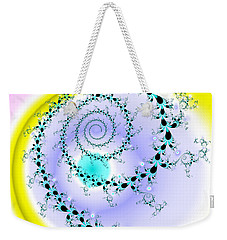Weekender Tote Bag featuring the digital art Afabliting by Andrew Kotlinski