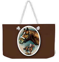 Affirmed With Name Decor Weekender Tote Bag