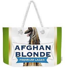 Afghan Blonde Premium Lager Weekender Tote Bag