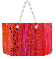 Aflutter Weekender Tote Bag by Desiree Paquette