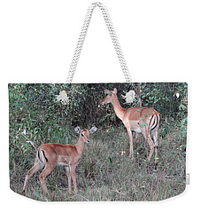 Africa - Animals In The Wild 2 Weekender Tote Bag