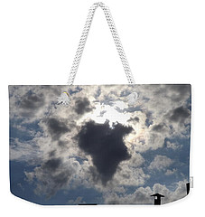 Africa Cloud Shape  Weekender Tote Bag