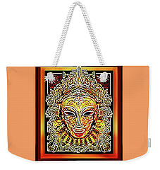 Weekender Tote Bag featuring the painting Africa by Hartmut Jager