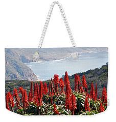 African Aloe And False Bay Weekender Tote Bag