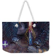 African Angel 6 Weekender Tote Bag