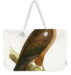 African Buzzard Weekender Tote Bag by English School