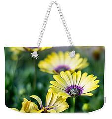 African Daisy Weekender Tote Bag