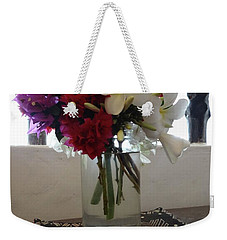African Flowers And Shells Weekender Tote Bag