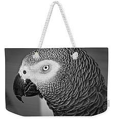 African Grey Parrot Weekender Tote Bag