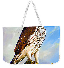 African Hawk Eagle Weekender Tote Bag