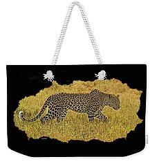 African Leopard 7 Weekender Tote Bag
