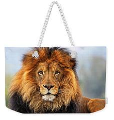 African Lion 1 Weekender Tote Bag by Ellen Henneke