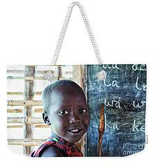 Maasai School Child Weekender Tote Bag