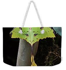 African Moon Moth Weekender Tote Bag