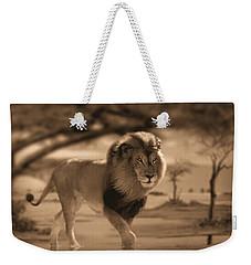 African Nomad Weekender Tote Bag