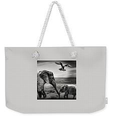 African Playground Weekender Tote Bag