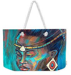 African Princess Weekender Tote Bag