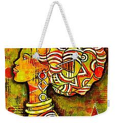 African Queen Weekender Tote Bag