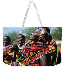 African Rhythm Weekender Tote Bag