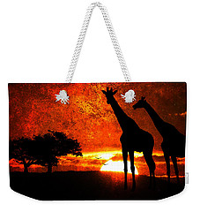 African Safari Weekender Tote Bag
