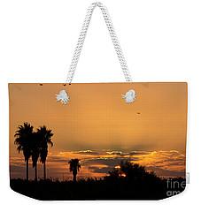 African Style Sunset 02 Weekender Tote Bag