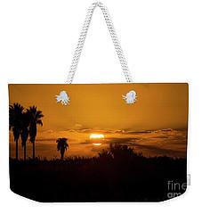 African Style Sunset Weekender Tote Bag