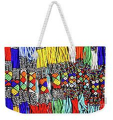 African Tribal Necklaces Weekender Tote Bag