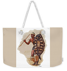 African Tribal Traditions 1 Weekender Tote Bag