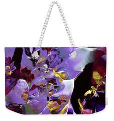 African Violet Awake #2 Weekender Tote Bag