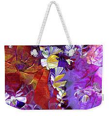 African Violet Awake #5 Weekender Tote Bag