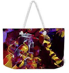 African Violet Awake Weekender Tote Bag
