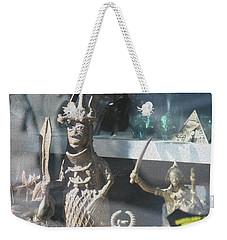 African Warrior Figurine Weekender Tote Bag