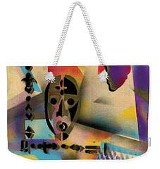 Afro - Aesthetic - H Weekender Tote Bag by Everett Spruill