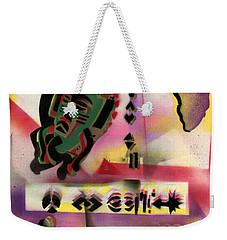 Afro - Aesthetic - M Weekender Tote Bag by Everett Spruill