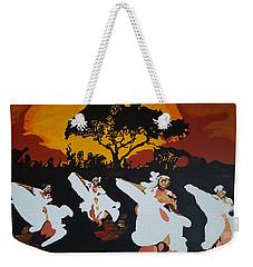 Afro Carib Dance Weekender Tote Bag