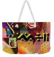 Afro Collage - O Weekender Tote Bag