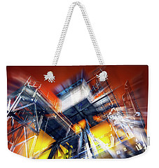 Weekender Tote Bag featuring the photograph After Effect by Wayne Sherriff