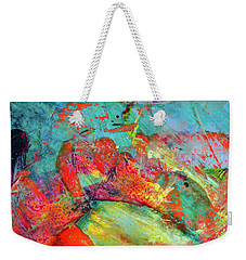 After Every Storm The Sun Will Smile - Colorful Abstract Art Painting Weekender Tote Bag