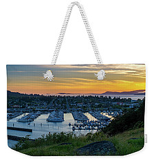 After Sunset At The Marina Weekender Tote Bag