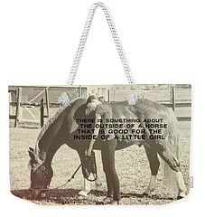 After The Competition Quote Weekender Tote Bag