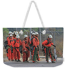 After The Fight Weekender Tote Bag by Shoal Hollingsworth