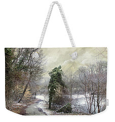 After The First Snowfall Weekender Tote Bag