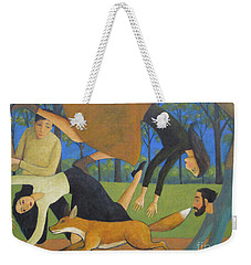 After The Fox Weekender Tote Bag