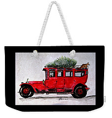 After The Fox Tally Ho Ho Ho Weekender Tote Bag