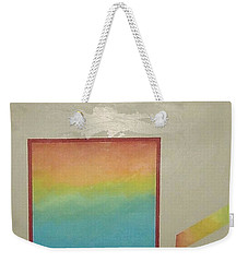Weekender Tote Bag featuring the painting After The Rain by Bernard Goodman